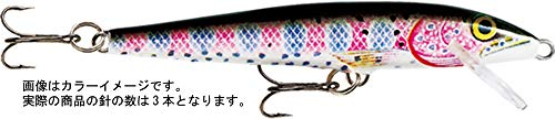 Rapala Original Floater 18 Fishing lure, 7-Inch, Rainbow ()