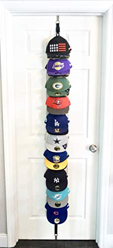 - The Clip Hanger Hat Rack Organizer Up to 20 Hats Any Size, Style, or Shape! Door, Wall, or Closet Organize Anything
