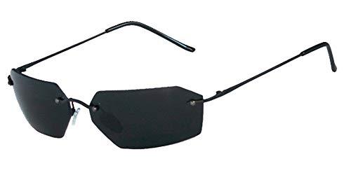 Matrix Agent Smith Sunglasses 20861 Black w/Smoke ()