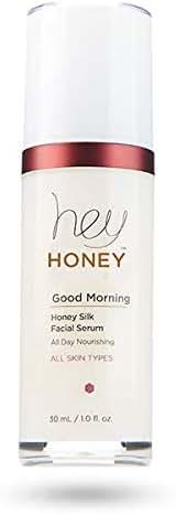 Hey Honey Skin Care Good Morning Honey Silk Facial Serum & Makeup Primer For Glowing Skin