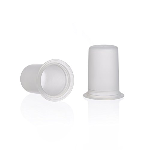 Ameda Silicone Retail Diaphragms, Clear, 2 Count
