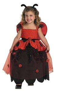 [Bugz Lil Love Ladybug Child/Toddler Costume] (Ladybug Costume Makeup)