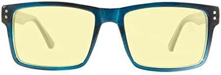 Retro Eyeworks Hollywood Computer Glasses 53-18 MM 1.0x Dark Blue
