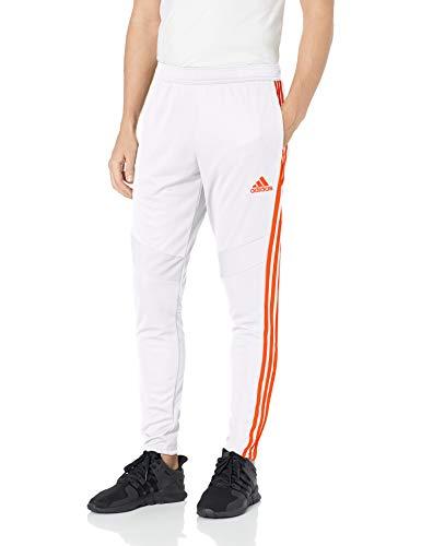adidas Men's Standard Tiro 19 Pants, White/Solar