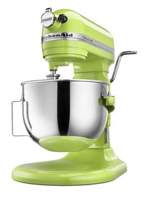 KitchenAid KG25H0XGA Professional HD Series Stand Mixer, 5 Qt, Green Apple