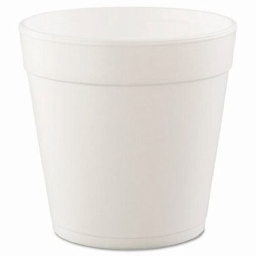Dart Insulated Foam Food Container, White, 32oz, 25/Bag (DCC32MJ48) ()