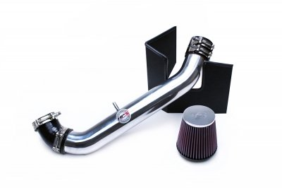 HPS 27-537P Polish Shortram Air Intake Kit with Heat Shield (Cool Short Ram SRI) ()