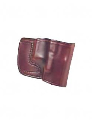 Don Hume JIT Slide Holster, Fits 1911, Right Hand, Brown Leather J967000R