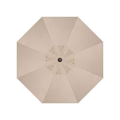- Umbrella Replacement Canopy 9 feet 8 Ribs Non Faded Sunbrella Fabric Canopy Only for 9' Patio Umbrella 8 Ribs (Acrylic Sunbrella, Heather Beige)
