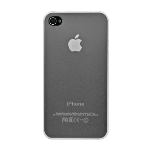 InvisibleShield Katinkas Ultra Slim harte Tasche für Apple iPhone 4/4S weiß