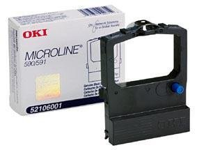 OKI52106001 - Oki Black Ribbon Cartridge