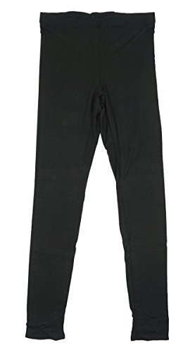 femmes Supersoft longue thermique noir hiver Legging UK grande taille de 10 pour 22