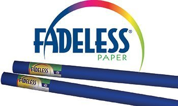 Pacon Corporation Fadeless Art Rolls 24 X 12 Royal Blue Film Wrapped by Pacon by Pacon