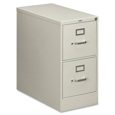 High Security Filing Cabinets (HON 210 Series Locking Vertical Filing Cabinet - 15amp;quot; x 28.5amp;quot; x 29amp;quot; - Metal - 2 Drawer(s) - Letter - Security Lock, Rust Resistant - Light Gray )