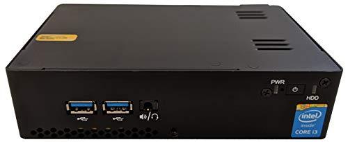 Intel NUC HDN Mini PC, i3(5010U) 2 1G CPU, 4GB RAM, 128GB SSD, WiFi,  Windows 10 Home, Renewed