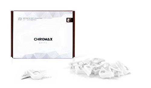 Noctua NA-SAVP1 Chromax Anti-Vibration Fan Mount Set - 16 Pack - White (NA-SAVP1 White)