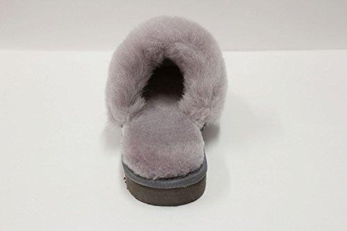 Light Men's E800 Slippers Gray Sheepskin Furfurmouton Australian Wool xYTZawqd