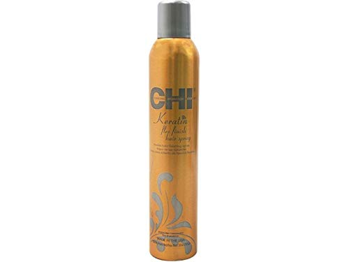 Limited Edition C.H.I. Keratin Flex Finish Hair Spray 10 oz -Perfume/Cologne Samples Included-