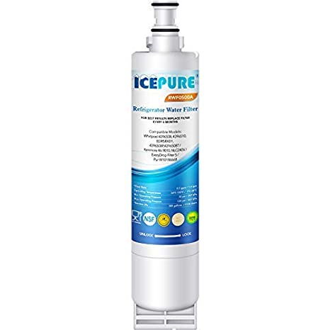 IcePure RFC0500A Water Filter to Replace Whirlpool, Kitchenaid, Sears,  Thermador