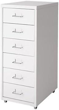 Ikea Helmer cajón Element sobre Ruedas; en Color Blanco: IKEA of ...