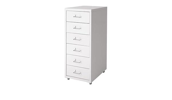 Ikea Helmer cajón Element Sobre Ruedas; en Color Blanco: IKEA of Sweden: Amazon.es: Hogar
