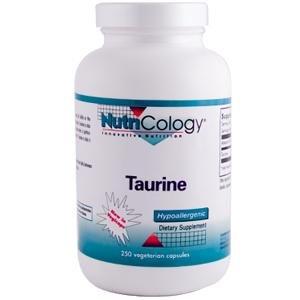 Nutricology taurine, 1000 Mg, Vegicaps, 250-Comte