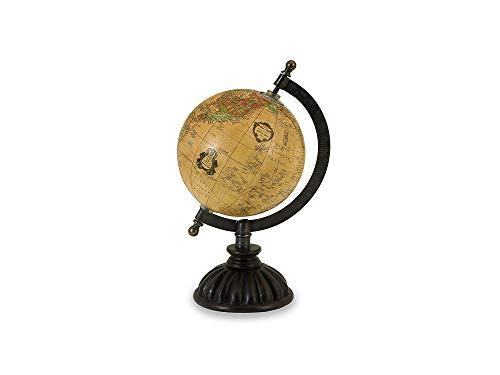 (Imаx Home Decor 5490 Colony Globe - World Globe Map, Globe Stand with Nickel Finish Base, Metallic Globe. Home Decor Accents)