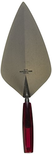 MARSHALLTOWN The Premier Line 34P11 11-Inch Wide London Brick Trowel with Plastic Handle