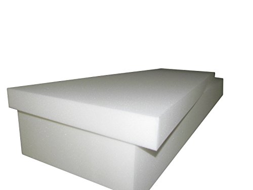 Foam Mattress- Twin/Single Size 6''T x 39''W x 75''L (1546) '' FIRM'' (Upholstery Foam cushion, RV,Campers & Boat Mattress) by Isellfoam