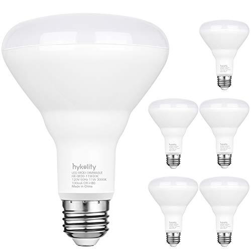 Hykolity 6 Pack Flood Light Bulb