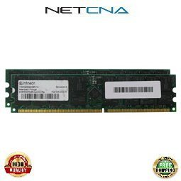 300682-B21 4GB (2x2GB) Compaq Proliant BL/DL/ML PC2100 Registered DIMM Memory Kit 100% Compatible memory by NETCNA USA by NETCNA