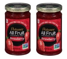 Polaner All Fruit Strawberry Spreadable Fruit 10 oz. Jar (Pack of 2) Gluten Free. by Polaner