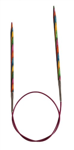 KnitPro 40 cm x 3.75 mm Symfonie Fixed Circular Needles, Multi-Color ()
