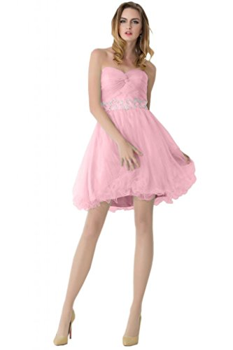 sunvary Beautiful One hombro abierto en la espalda corta vestidos de fiesta Homecoming morado