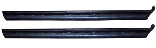 68-72 GM A-Body (2DR Coupe & Convertible) Quarter Window Vertical Seal w/ Steel Insert - LH/RH (Sold as a Pair)