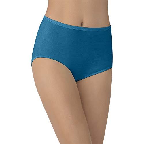 Vanity Fair Women's Underwear Illumination Brief Panty 13109, Celestial Blue, X-Large/8