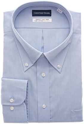 [CHRISTIAN ORANI] ボタンダウンスタンダードワイシャツ【キング&トール】 オールシーズン用 SS1901K16