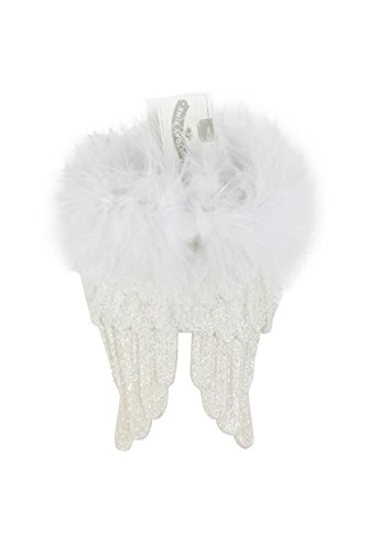 Abc Family Original Christmas Movies - Angel Wings Feathery Christmas Ornament