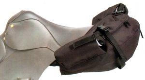 Tough-1 English Nylon Saddle Bag ()