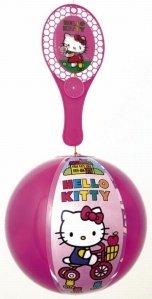 Set 10Tap Ball Hello Kitty Ballon 20cm + Schläger