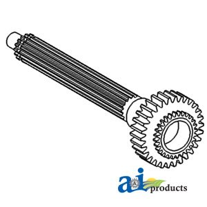 A&I Products Shaft, Main Transmission (Rear) (W/8SP TRANS.) Replacement for...