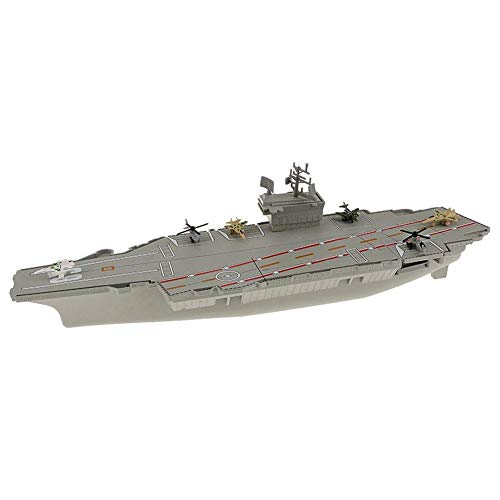 TOOGOO Invincible Aircraft Carrier Toys Model USS Kitty Hawk Plastic Collection