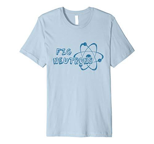 Retro Science Fair Team Fig Neutrons Premium T-Shirt (Dry Ice Science Fair Projects High School)