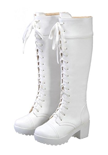Zunpeng Chun Li Cosplay Boots Halloween PU Leather