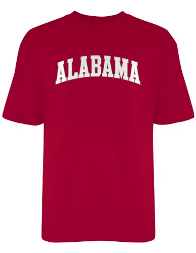 NCAA Alabama Crimson Tide Licensed T-Shirt, XX-Large, Crimson