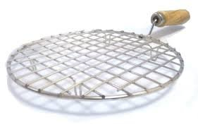 Stainless Steel Round Roti Grill, Papad Grill ,Roti Jali, Chapathi Grill
