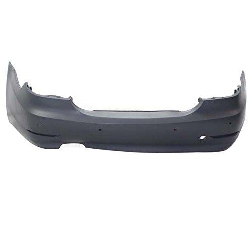Perfect Fit Group REPB760189P - 5-Series Rear Bumper Cover, Primed, W/ Park Distance Control, W/O M Pkg., Sedan
