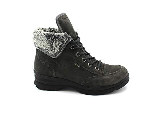 Gore Co tex Zapatos Igi Botas amp; Gris 2165111 Mujer Pelo Cordones Grigio 6q7SZ7Ax