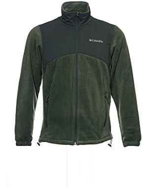 Columbia/Field Gear Men's Green Fleece Jacket