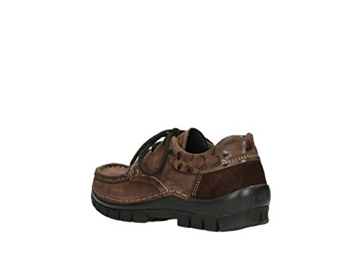 Comfort Cuir winter 59430 Cognac lacets à Fly Chaussures Wolky zBdA7qvwZd